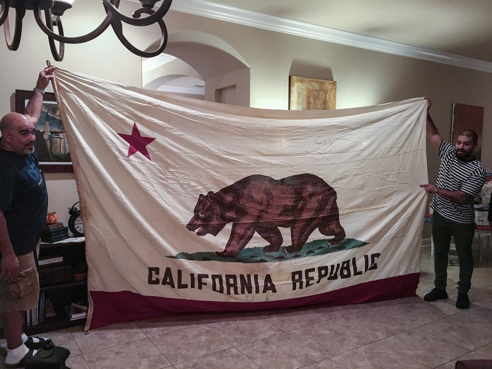 The California State Flag.