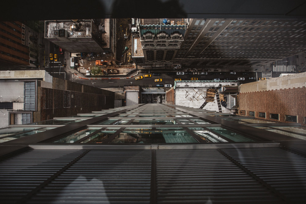 The Glass Floor.