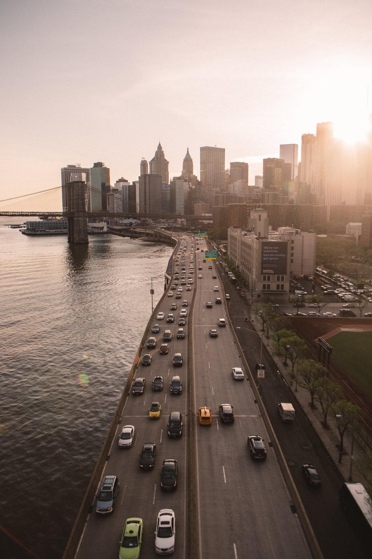 Views from Manhattan Bridge.