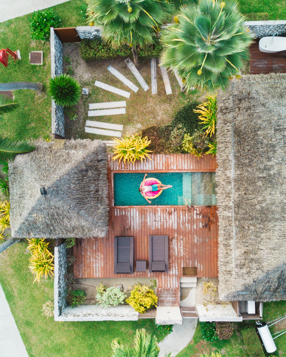 Kia Ora Resort in Rangiroa, Tahiti.