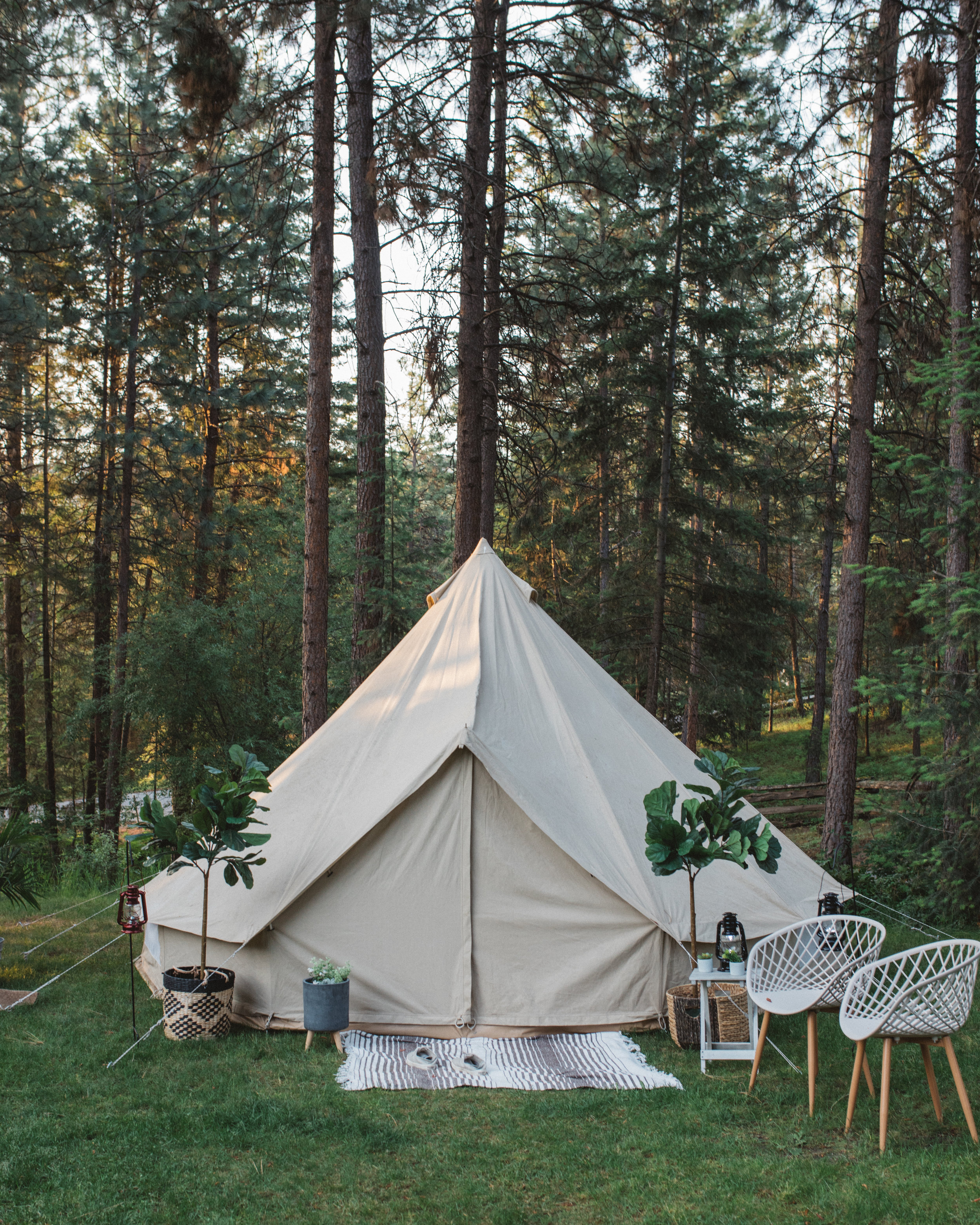 Glamping with Luxe Camping — Scott Bakken