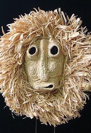 Corn Husk Mask, Iroquois people, Northeastern United States.jpg