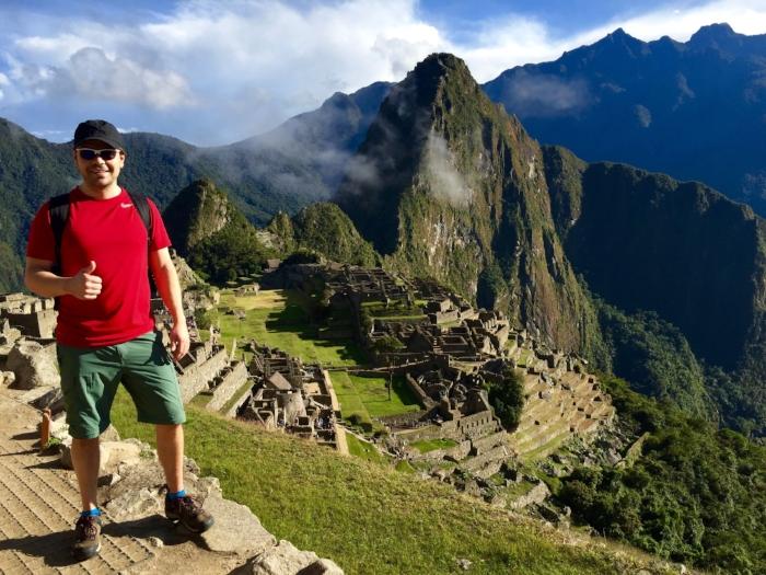 Our climb to Machu Picchu