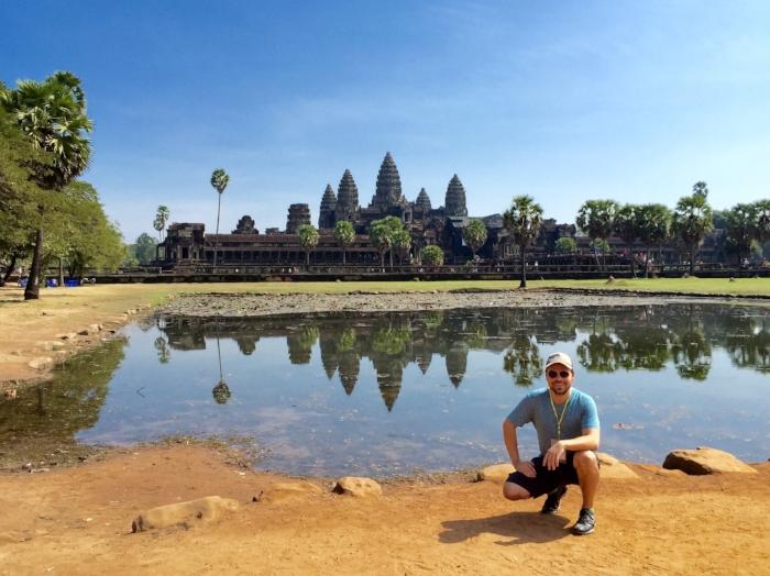 Exploring the mystical Angkor Wat