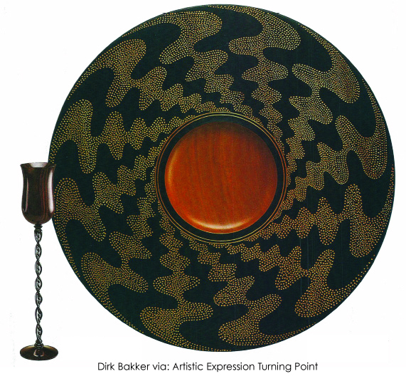 Wood turning Dirk Bakker