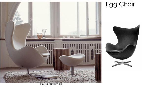 Modern Egg Chair