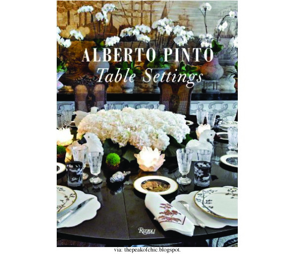 Alberto Pinto Table Settings