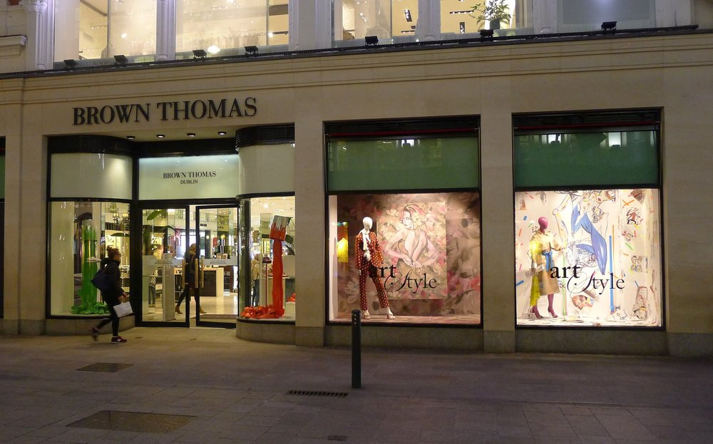 Brown Thomas Grafton Street Window March- April 2018