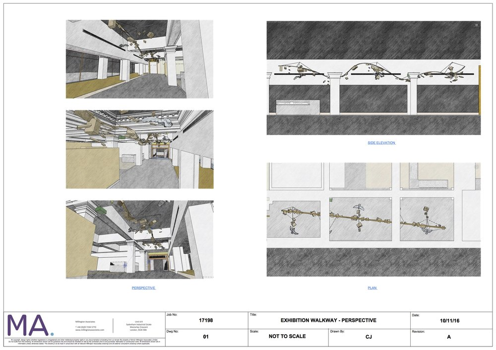 Harrods Exhibition Walkway