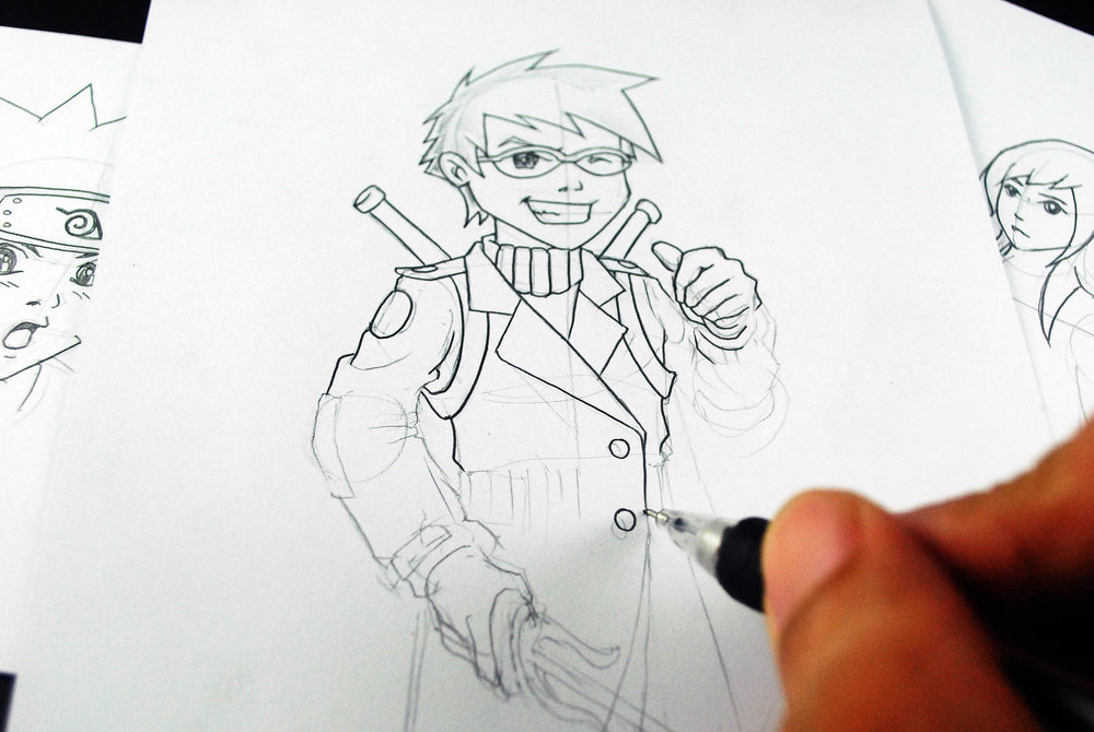 Learn How To Draw Anime Characters How To Learn To Draw Manga And Develop Your Own Style: 5 Steps