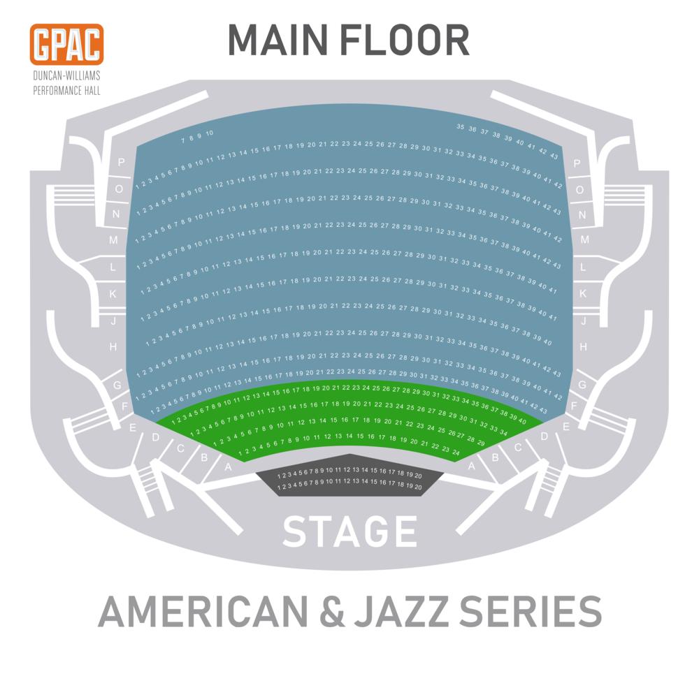American & Jazz Main Floor