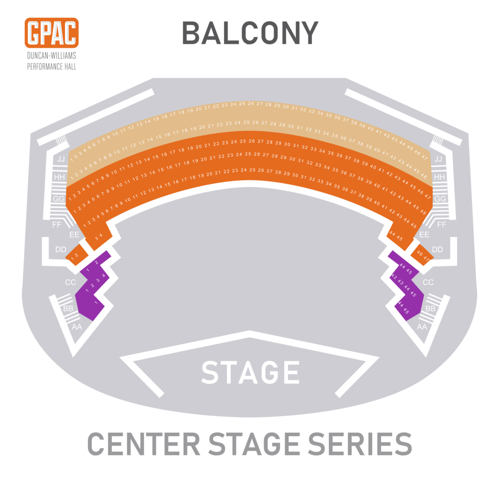 Center Stage Balcony