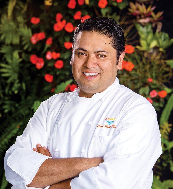 Chef Roel Mesta