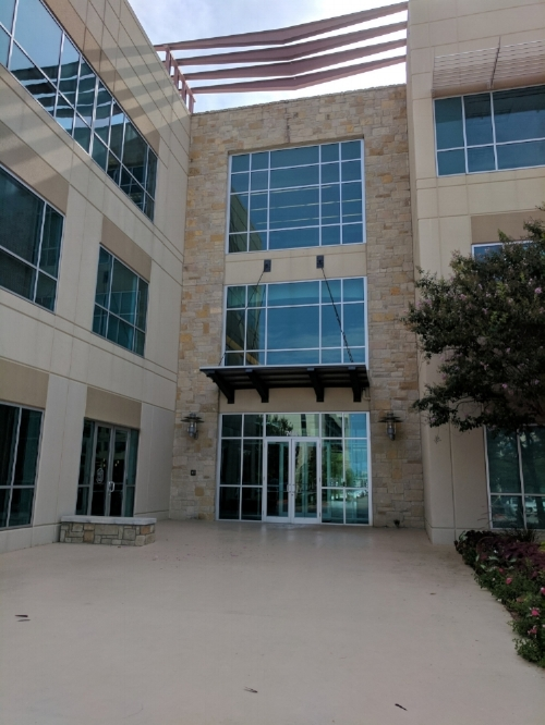 Our main office is located in the Oracle building, on the first floor, and to the left of the main glass double doors. We're right across from the security guard's desk.