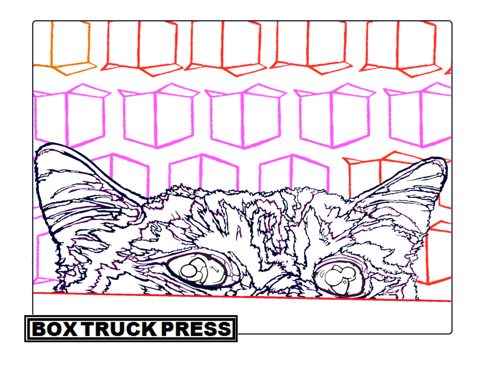 FREE coloring pages — Box Truck Press