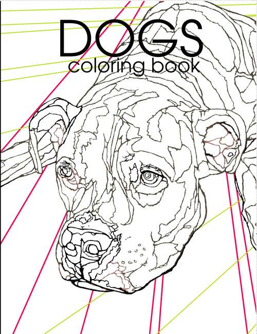 DOGS COLORING BOOK — Box Truck Press