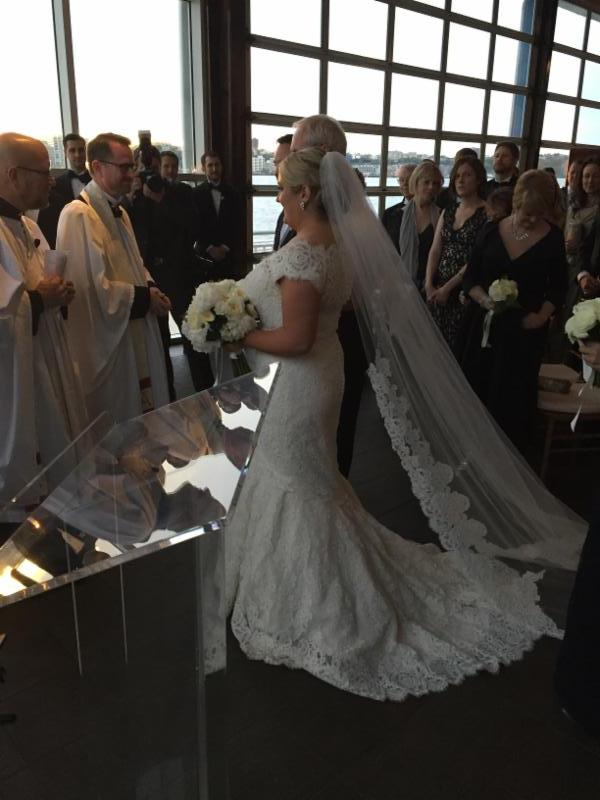Meg and Don Gregg's grand-daughter Cat Buckley was married last weekend to Mike Leavey. The ceremony took place in the city at the Lighthouse at Chelsea Piers.