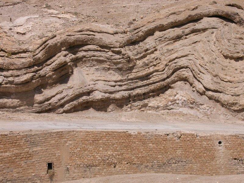 The old road from Jerusalem to Jericho