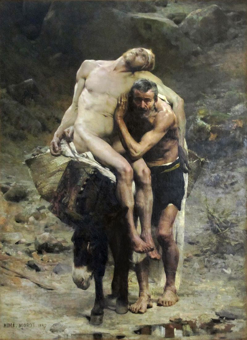 The Good Samaritan by Morot