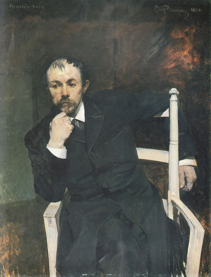 Arne Garborg by Eilif Peterssen