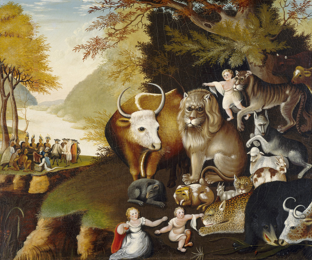 The Peaceable Kingdom by Edward Hicks.