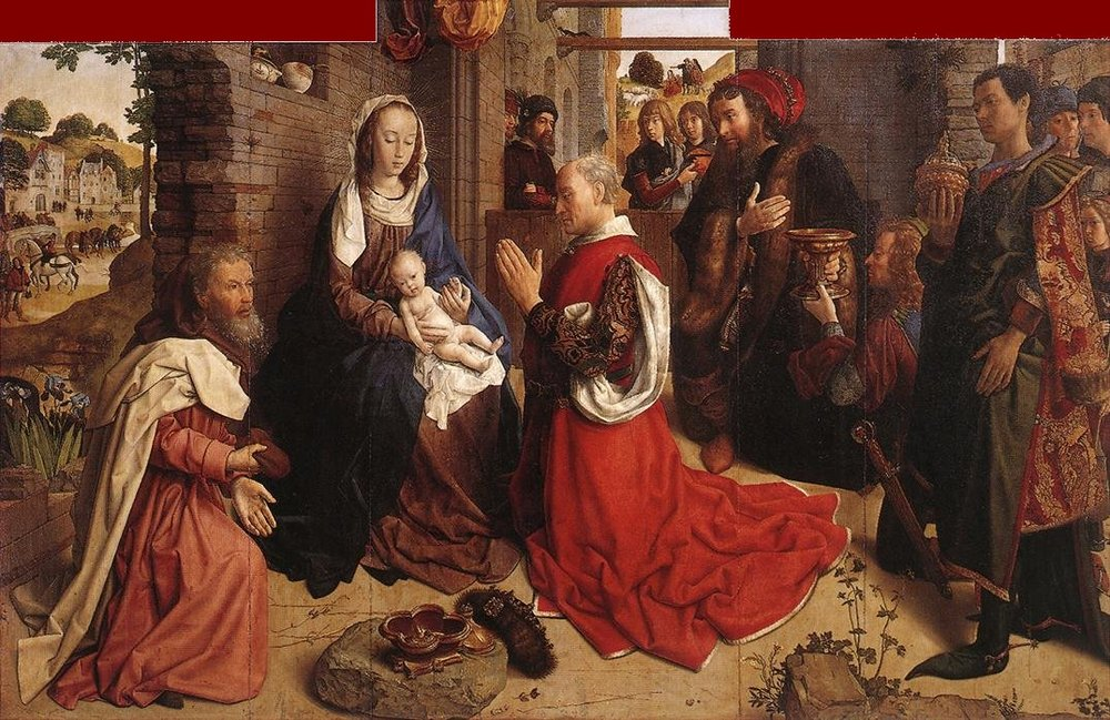 The Adoration of the Magi by Hugo Van Der Goes.