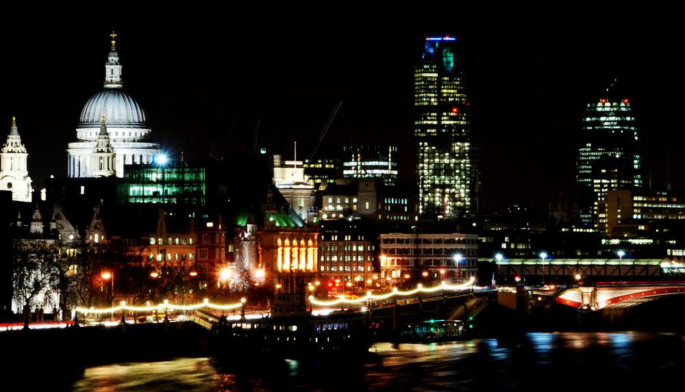 London's famous skyline