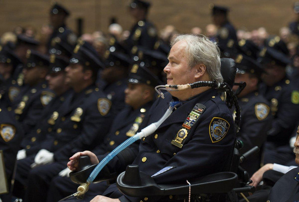 Steven McDonald of the NYPD