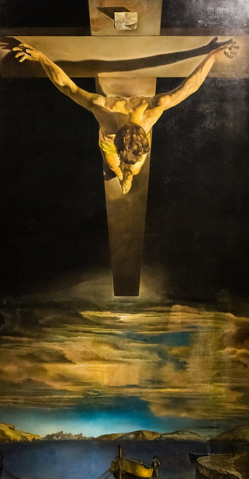 'The Cross of St. John of the Cross' by Salvador Dali