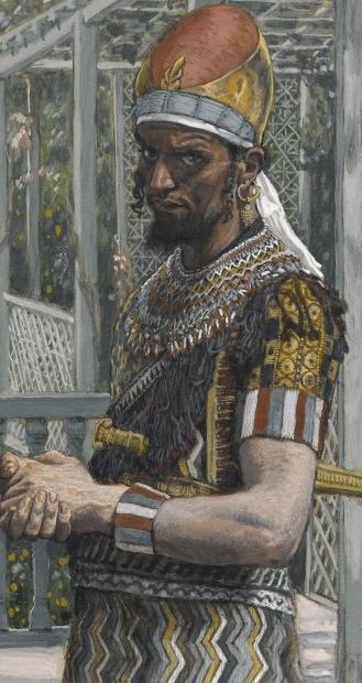 'Herod Antipas' by James Tissot (late 19th century)