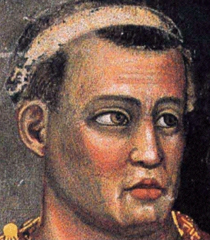 A detail of Pontius Pilate by Giotto