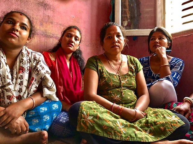 Beautiful faces of Nepal.  #beadwork #artisans #nepal #femaleartists #hardwork #kathmandu #saturdayvibes  #dignitycollective . . . . . . . . . . . #picoftheday #saturday #sustainableliving #artisanship #femaleempowerment #women #womenandgirls #veganbeauty #ethicalfashion #fairtrade #veganhaircare #veganskincare #endslavery #crueltyfree #inspiration #ecofashion #fashionrevolution #sustainablefashion