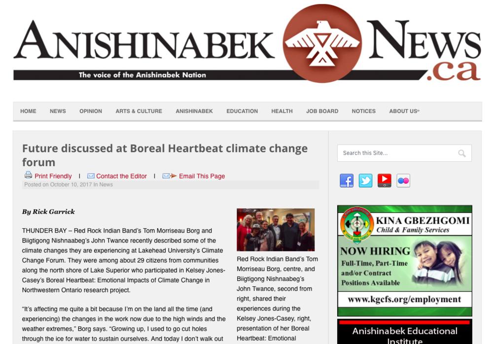 Anishanabek News