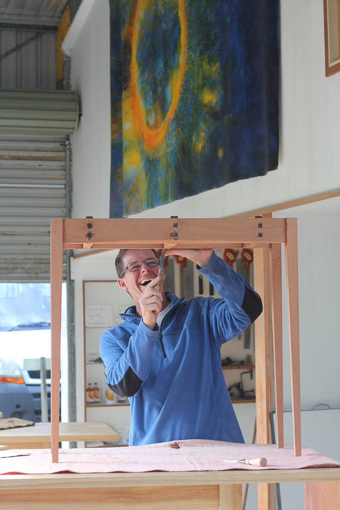 Cooroora institute sharing the song of the earth through for Furniture making courses