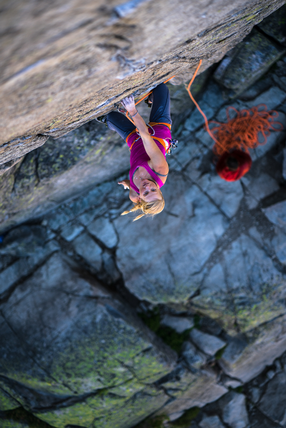 Emily Harrington in the next issue of Climbing Magazine. So make sure you pick it up in August! Read something other than your iPhone. Unless of course, you're reading this on your iPhone, in which case...carry on.