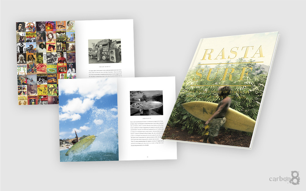 Case bound book Rasta Surf