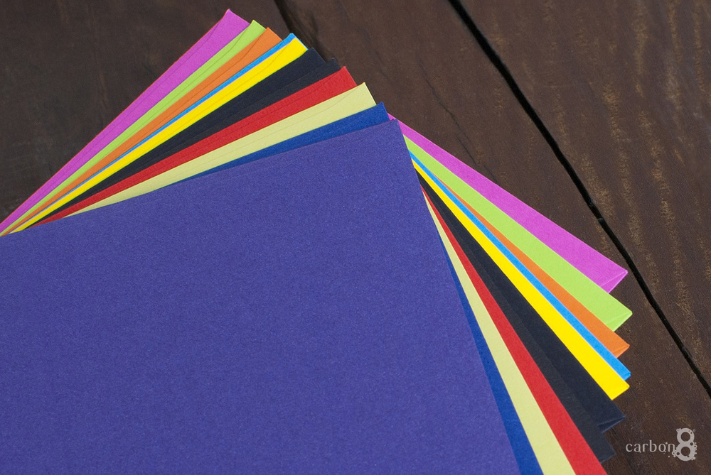Envelopes in different colours for printing