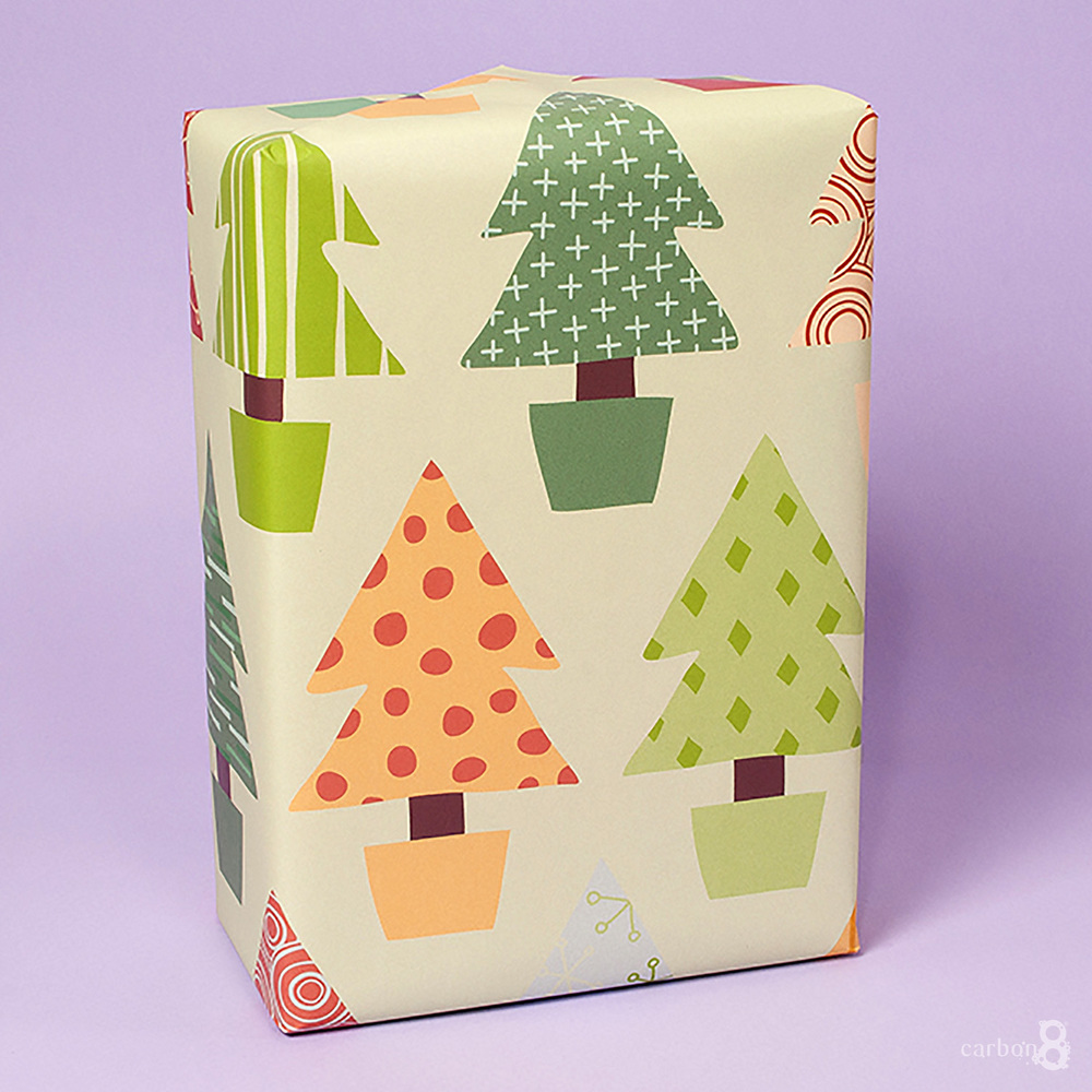 Custom wrapping paper example