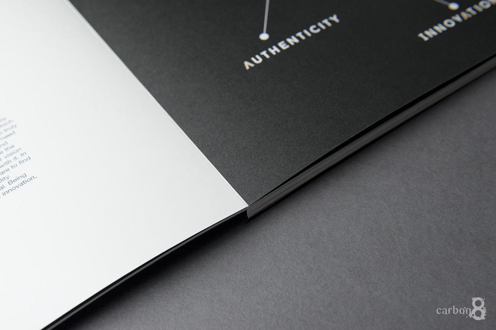 lay flat portfolio inside