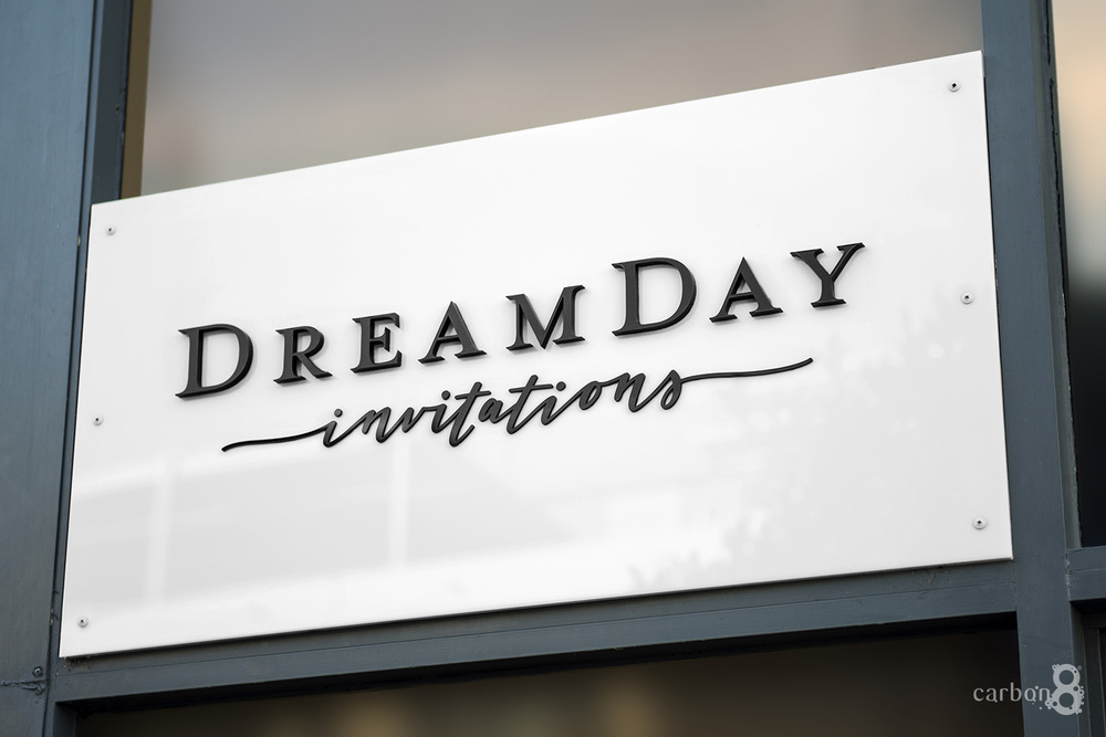 signage Dreamday Invitations