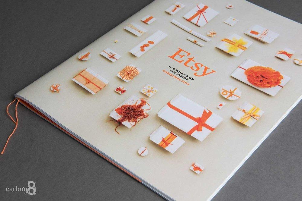 Etsy booklet digitally printed - inside