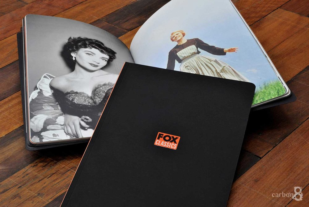 Brand booklet printed for Fox Classics