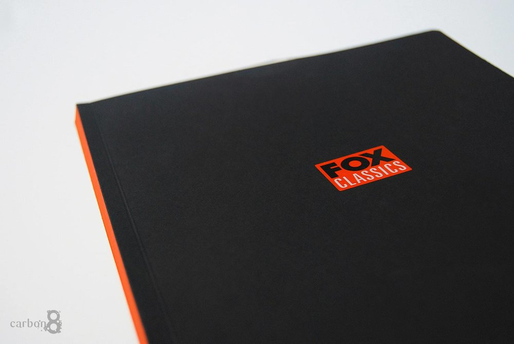 Brand booklet cover printed for Fox Classics