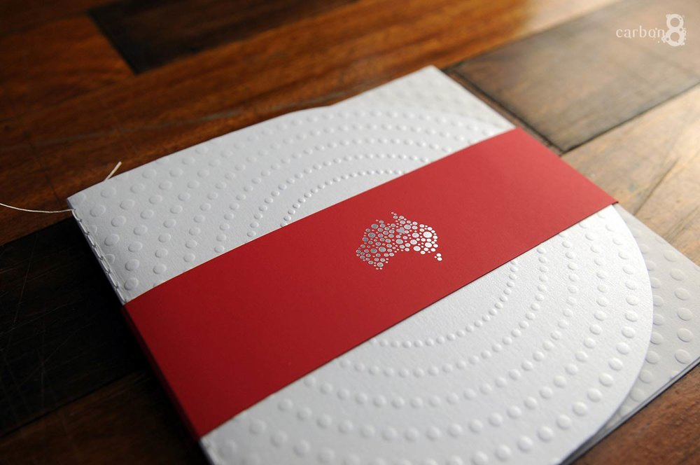 News Corp ceremony booklet embossed - cover