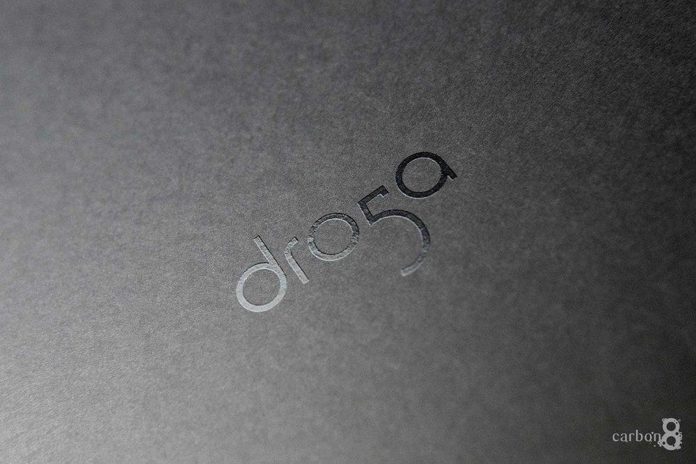 spot UV pitch book Dro5a celloglazing