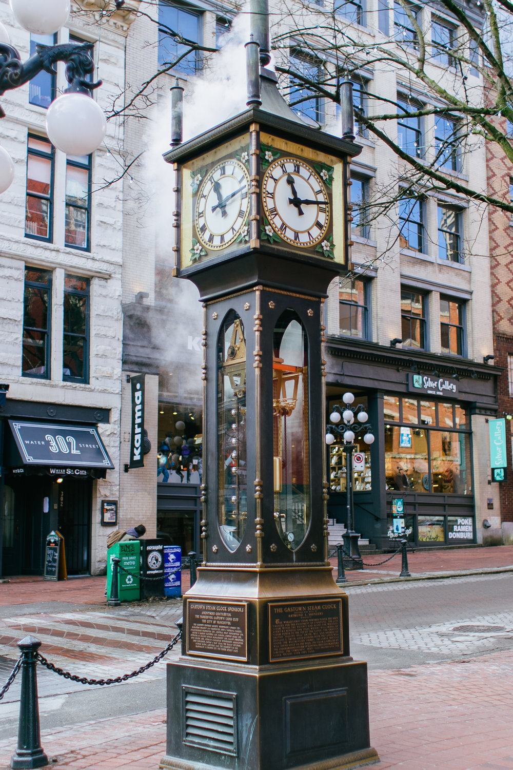 What to do Vancouver Canada Travel Guide Travel Tips Gastown Steam Clock