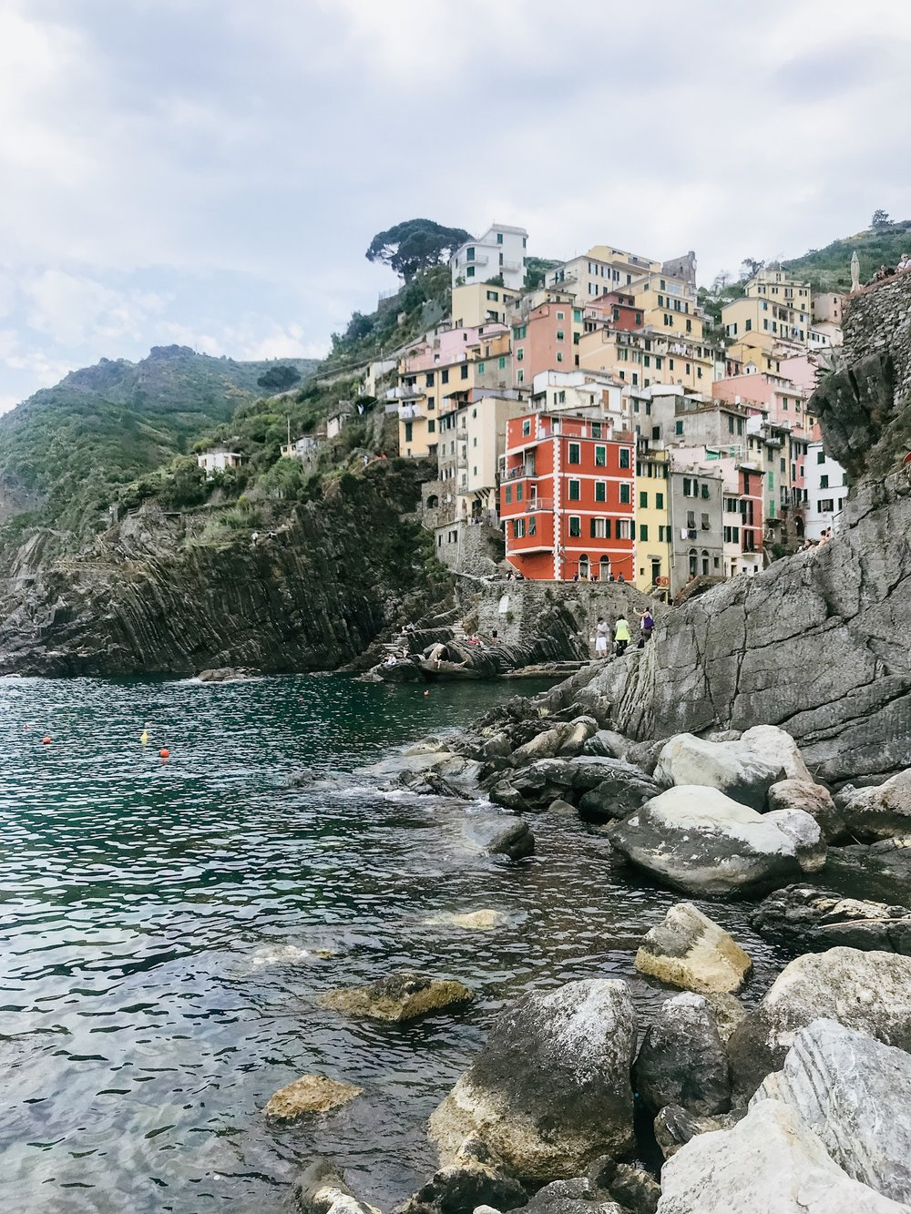 The village of Riomaggiore