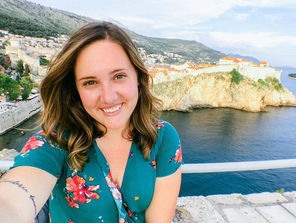 Living my best life in Dubrovnik, Croatia