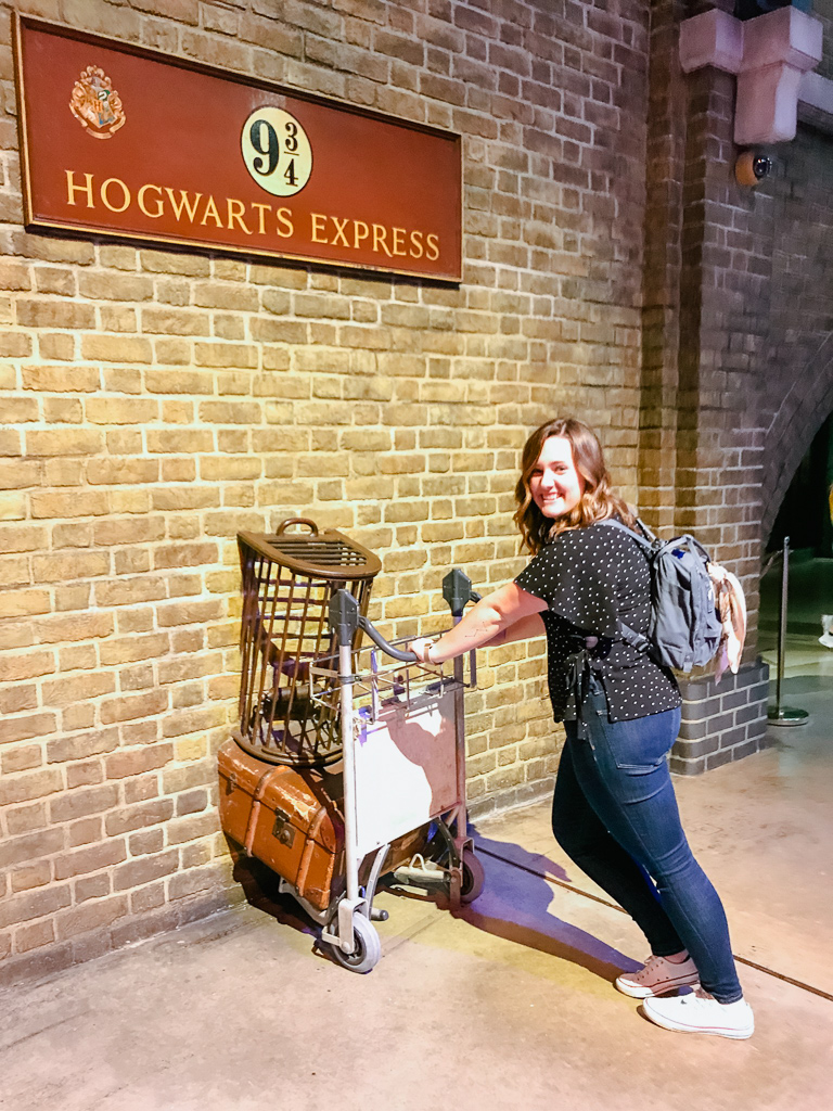 Heading to Hogwarts at the Harry Potter Studio Tour in London