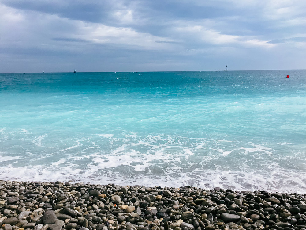 The most beautiful water in Nice, France
